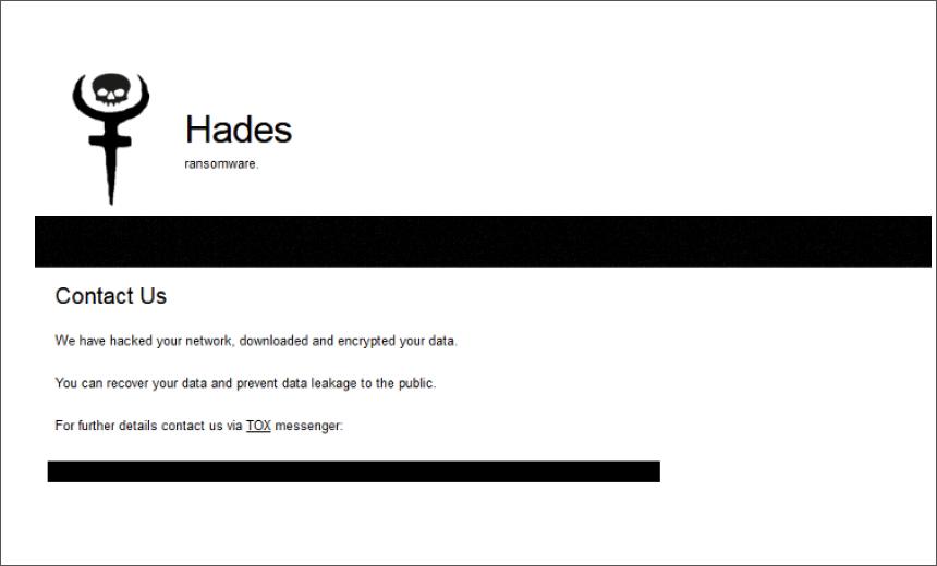 Hades Ransomware Targets 3 US Companies